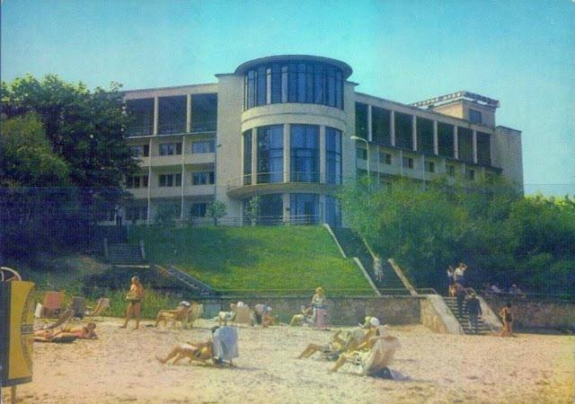 Санаторий Майори ДКБФ до 1991 года