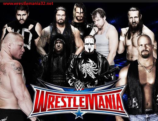 WWE WrestleMania 32 Matches List - Wrestlemania 2016 Matches Predictions