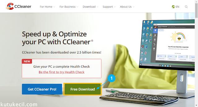 cara download aplikasi ccleaner