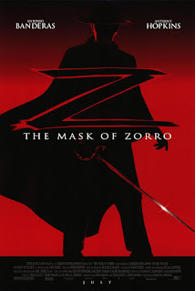 Movie poster for The Mask of Zorro (1998).