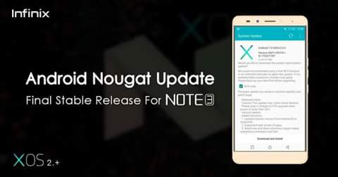 How to update INFINIX not 3 and note 3 pro to Android N