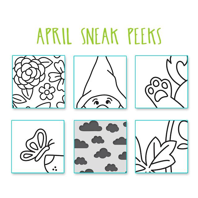Sneak Peeks for April 2021 Release - Newton's Nook Designs #newtonsnook