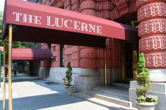 Entrance to The Lucerne Hotel, New York Cit's Upper West Side
