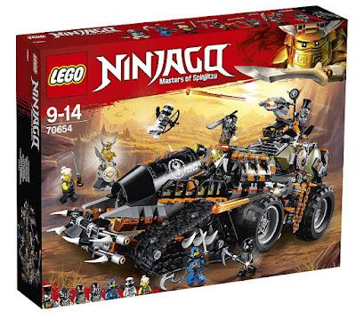 Toys : juguetes - LEGO Ninjago 70654 Dieselnauta COMPRAR ESTE JUGUETE