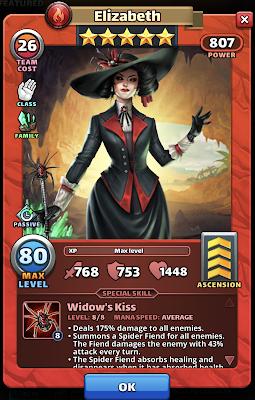 Elizabeth Hero Card - Empires & Puzzles