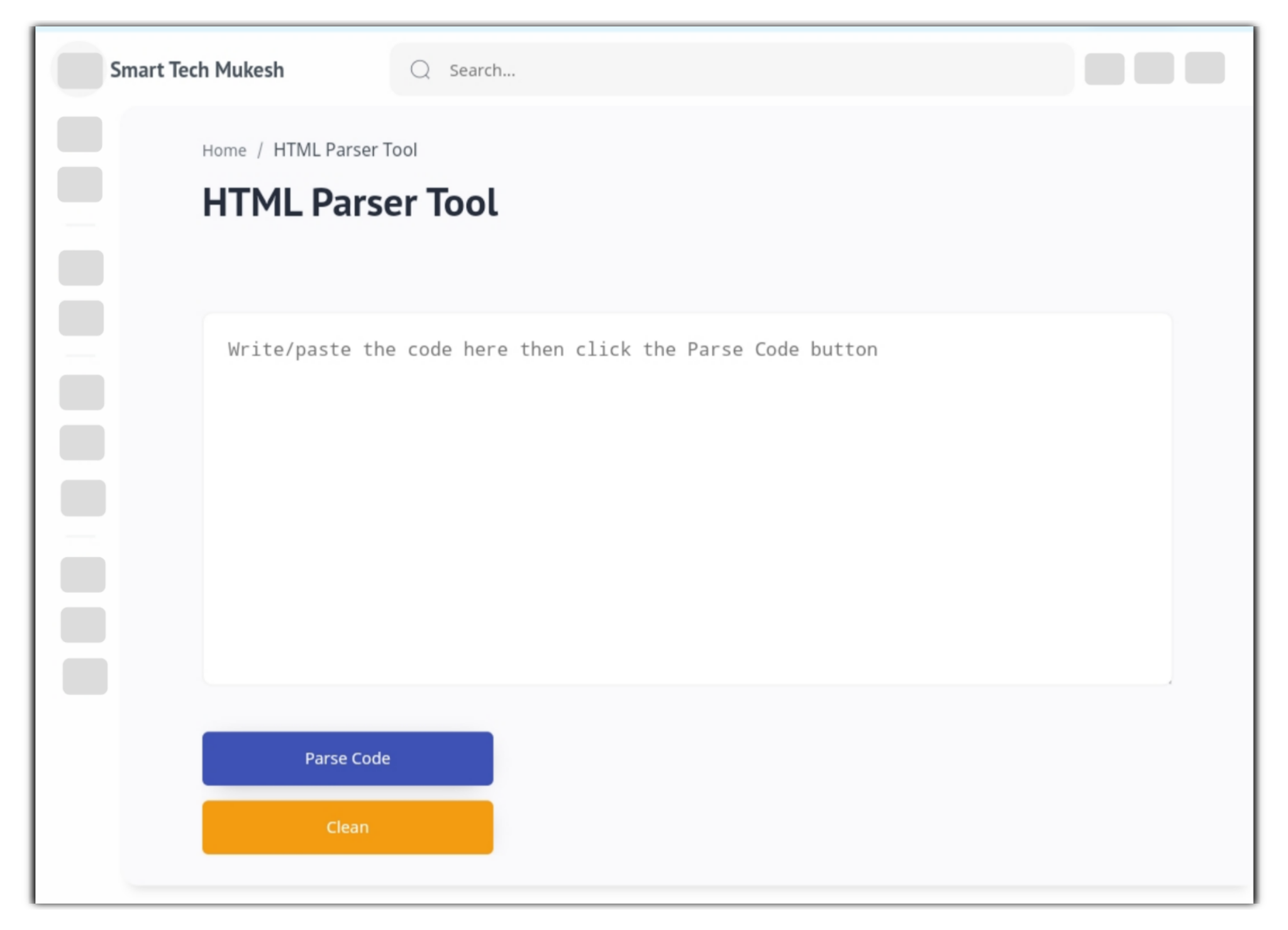 How to Create HTML Parser Tool in Blogger ?