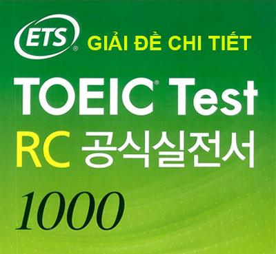 Ets Toeic Test Lc 1000 Pdf
