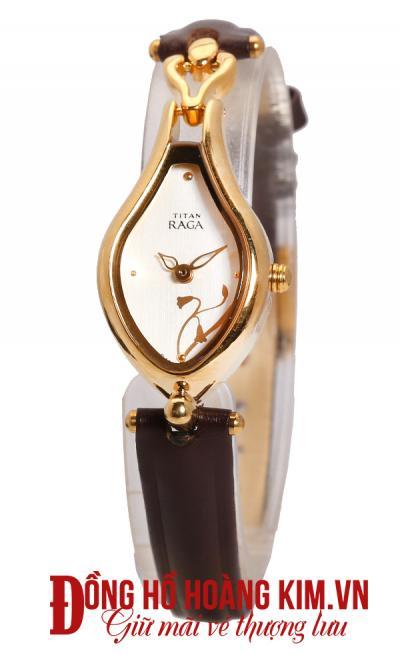 đồng hồ đeo tay nữ dây da giá rẻ