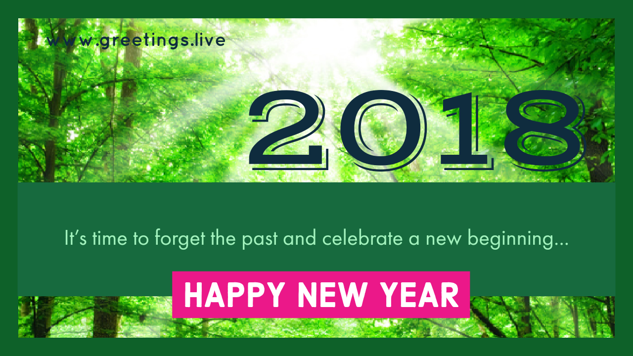 2018 New Year Wishes Greetings November 2017
