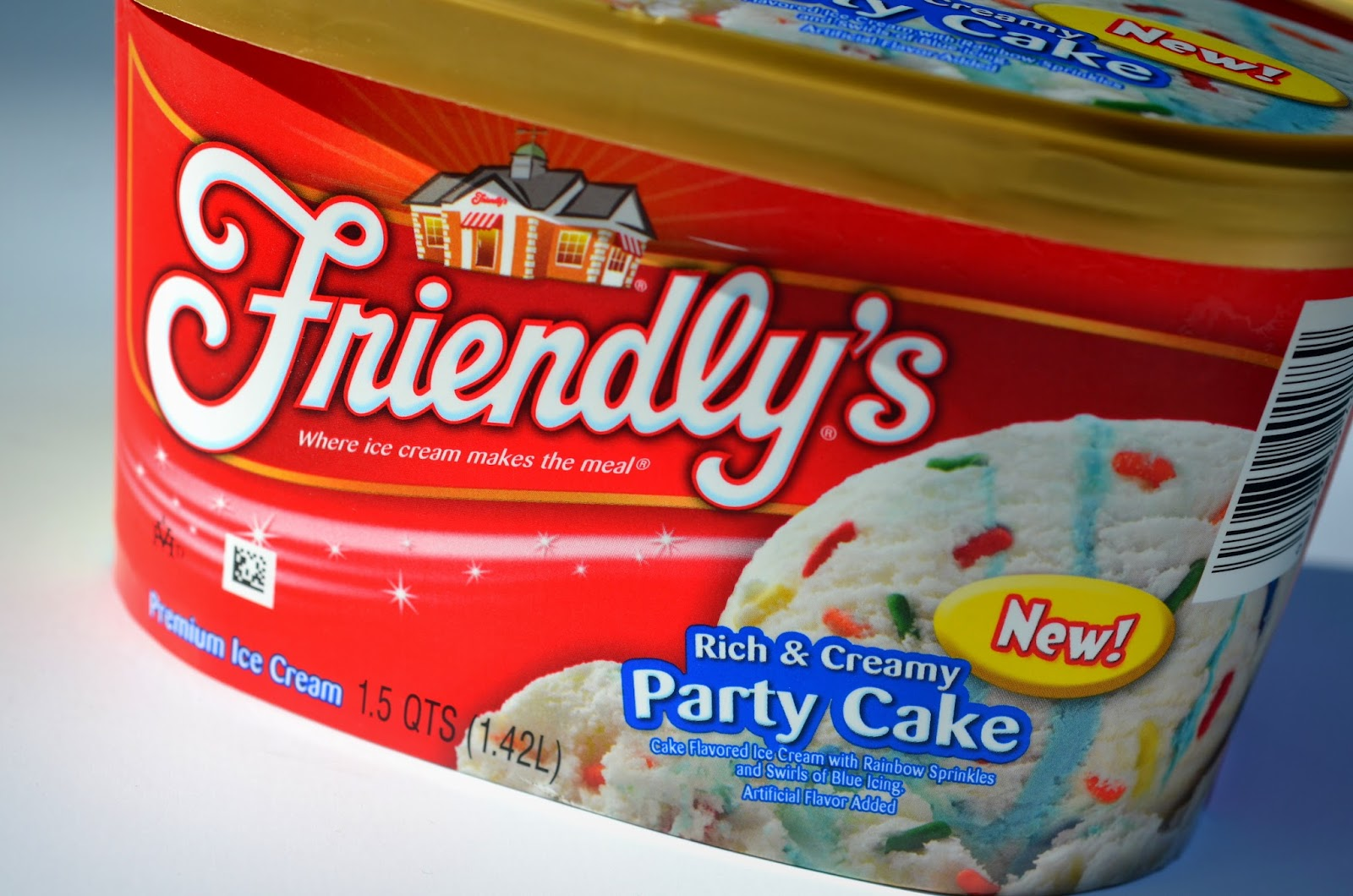 Birthday Cake Ice Cream Friendlys