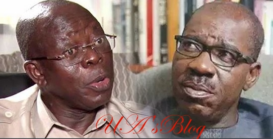 Edo Crisis: Former Speaker Threatens Oshiomhole