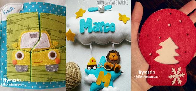 progetti creativi di Nymeria feltro handmade