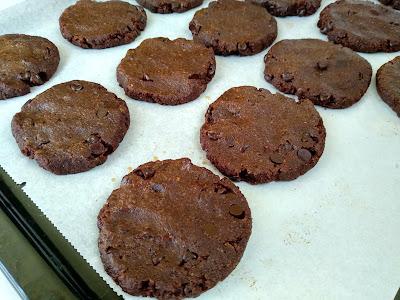 galletas De Chocolate Veganas {sin Gluten Y Sin Azúcar Refinado}