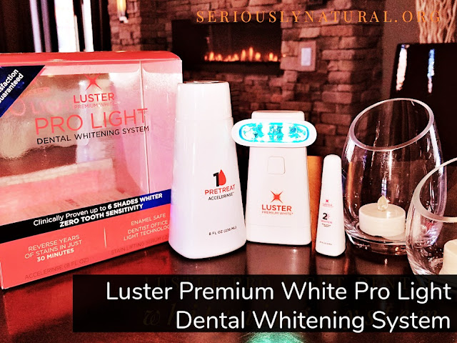 Click here to buy Luster Premium White Pro Light Dental Whitening System for a younger looking smile.