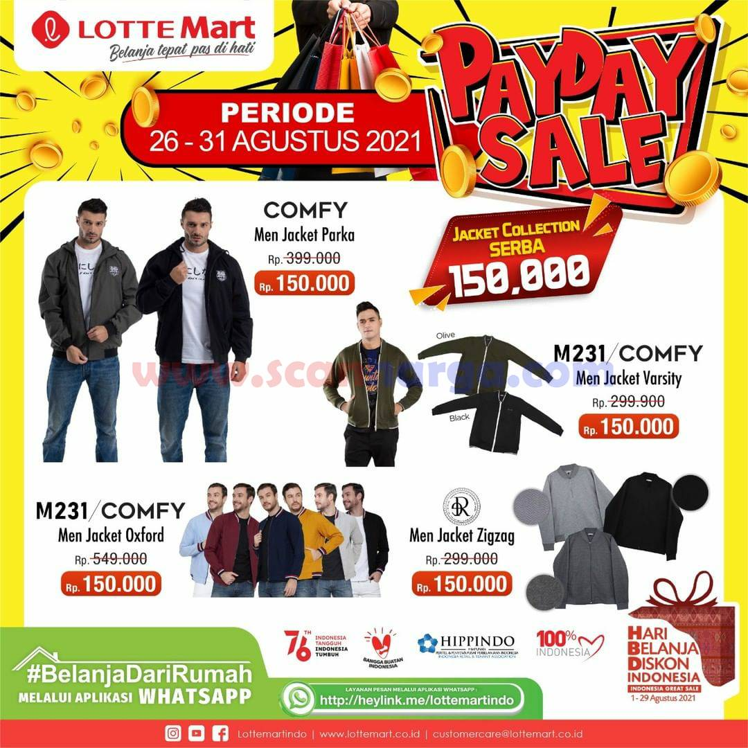LOTTEMART PAYDAY SALE Promo GAJIAN Periode 25-31 Agustus 2021 12
