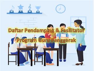 Cara Daftar Pendamping & Fasilitator Guru Penggerak