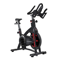 Schwinn AC Power Indoor Cycle Spin Bike, with Carbon Blue durable toothed drive train and magnetic resistance brake system