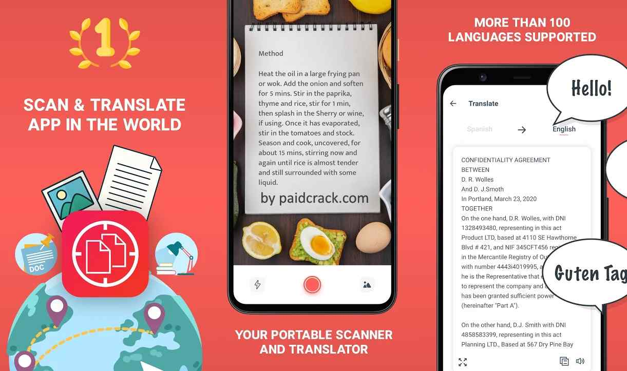 Scan & Translate+ Text Grabber Premium Mod Apk 4.3.0