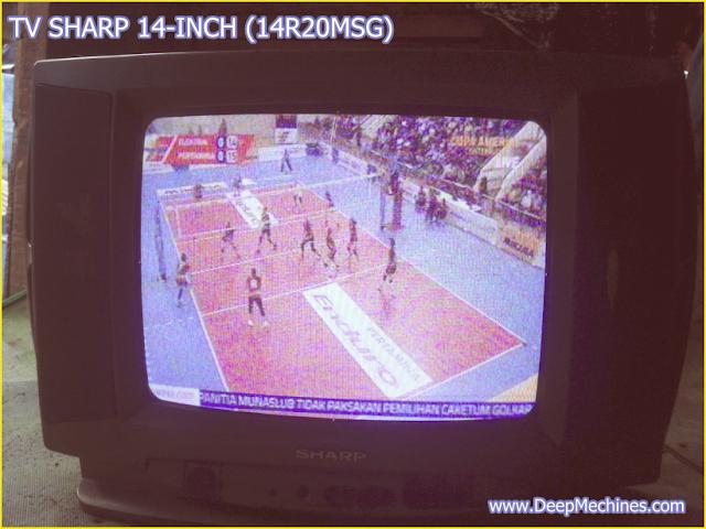 TV SHARP 14-Inch - Model:14R20MSG Perbaikan Kerusakan Standby / Mati Sendiri / Menyala Sendiri