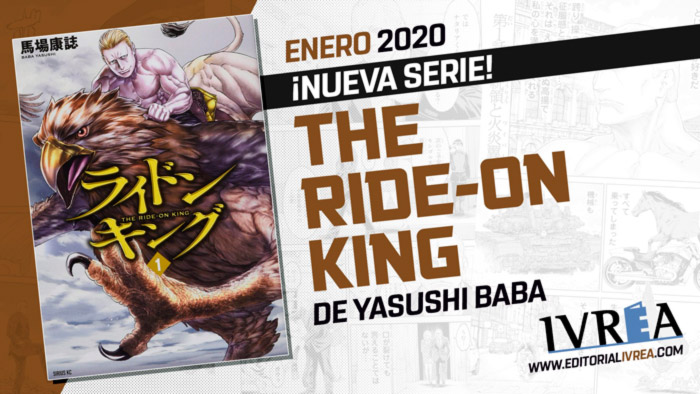 The Ride-On King manga - Ivrea