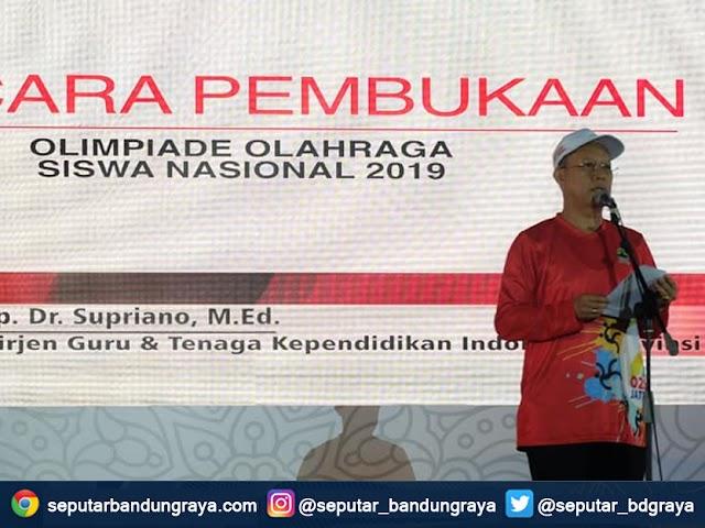 Para Siswa Asal Jabar Borong Medali di O2SN Tingkat Nasional 2019