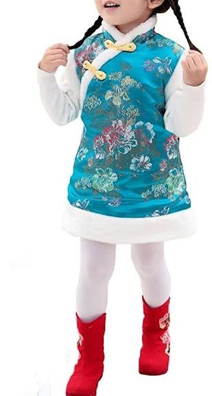 Cheongsam Qipao Dresses For Girls