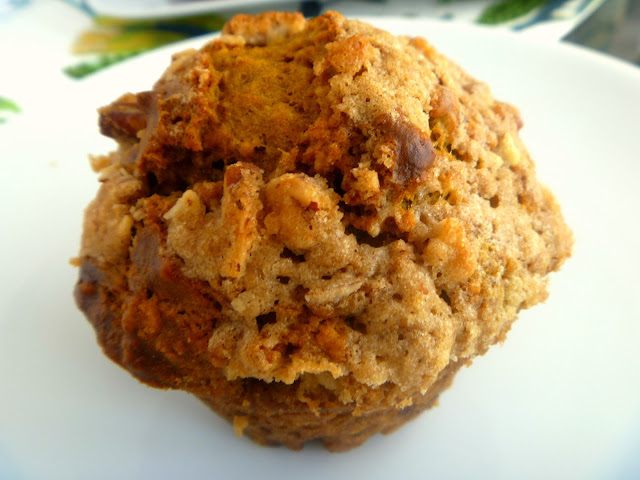 Hot from the oven, bursting with the aromas of fall, these muffins will bring comfort to your soul! - Slice of Southern