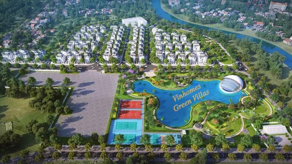 Biệt thự Vinhomes Green Villas Đại Mỗ