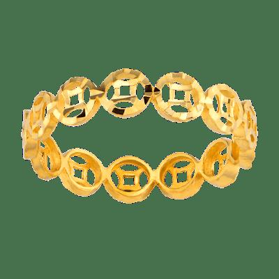 Nhẫn Kim Tiền Vàng 24K PNJ