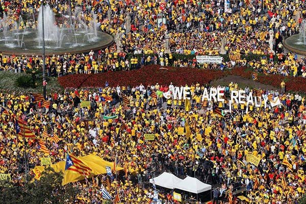 27 octubre 2017:  se proclama la República de Cataluña