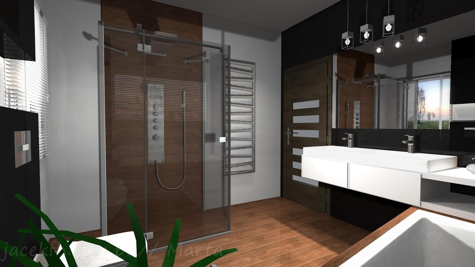 Projekty łazienek łazienka 89 M2