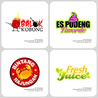 desain logo juice