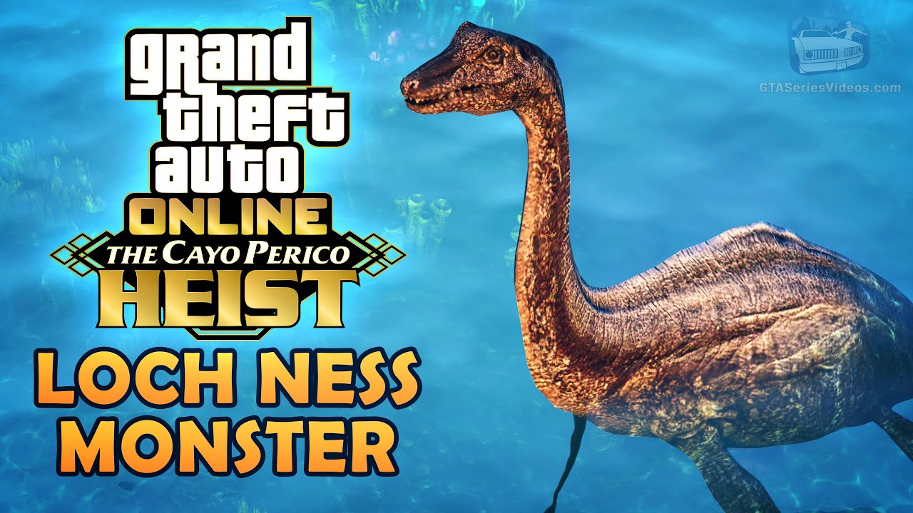 GTA Online Cayo Perico Update: How to Find the Loch Ness Monster (Easter Egg)