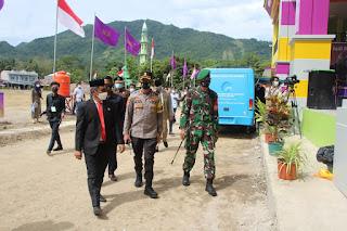 Gubernur Sulsel Puji Penerapan Prokes Saat HUT Enrekang