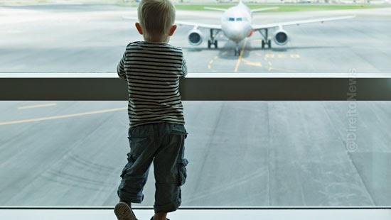 aerea indenizar vender passagens menores desacompanhados