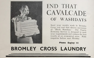 Bromley Cross Laundry - Advert from 1938