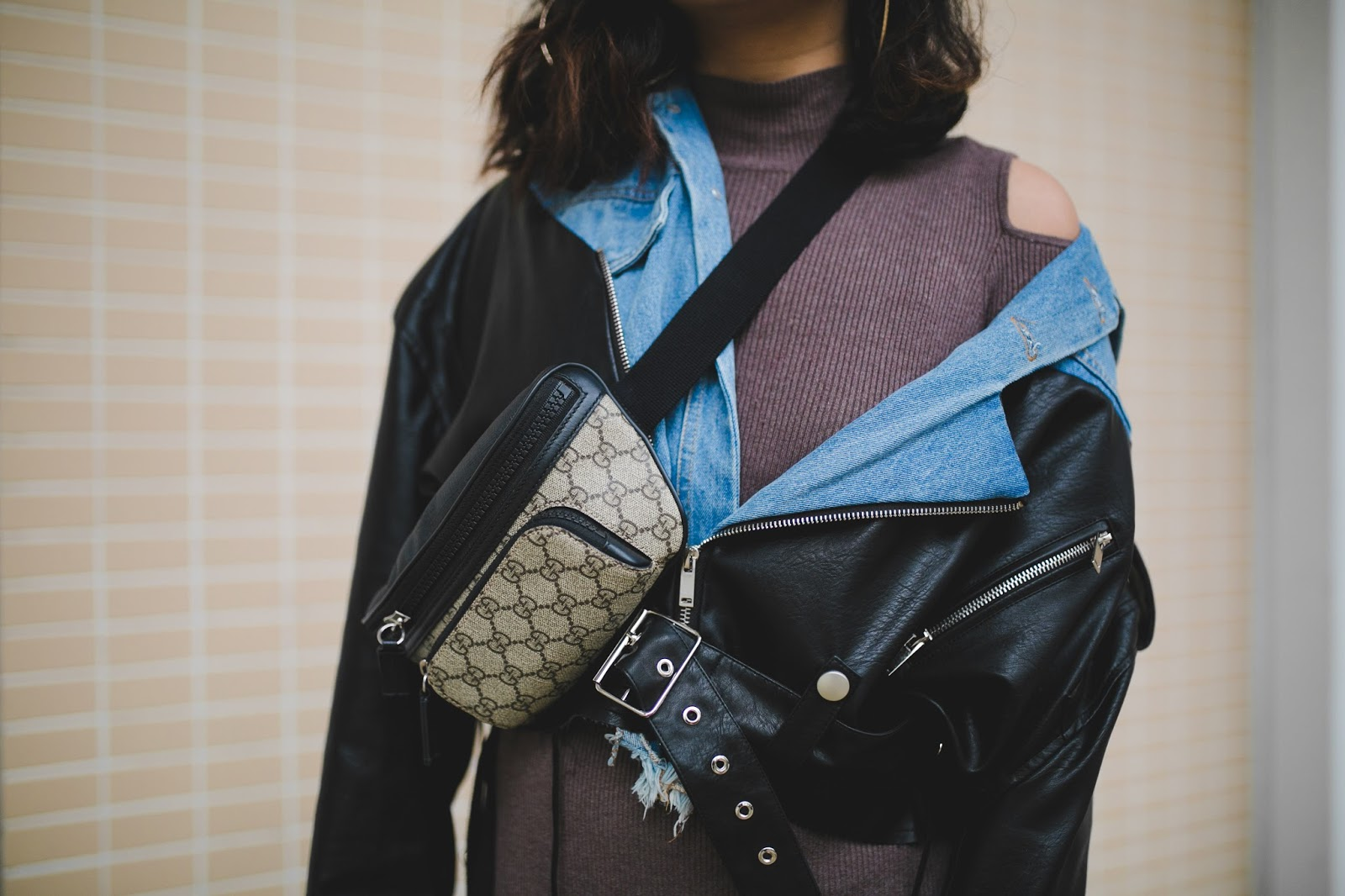 Macau Fashion blogger outfit wearing Gucci bag