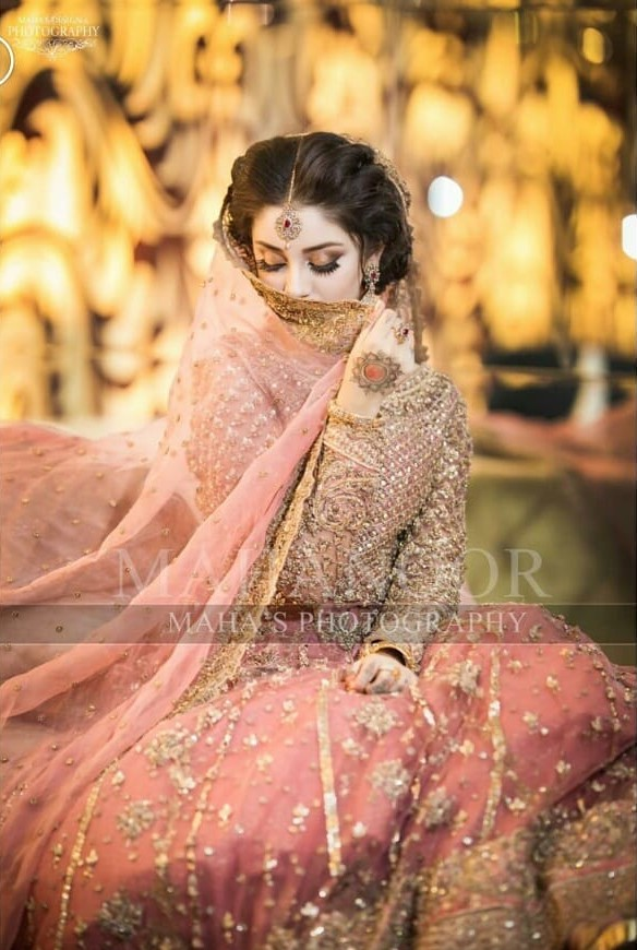 Alizeh Shah Bridal Dress