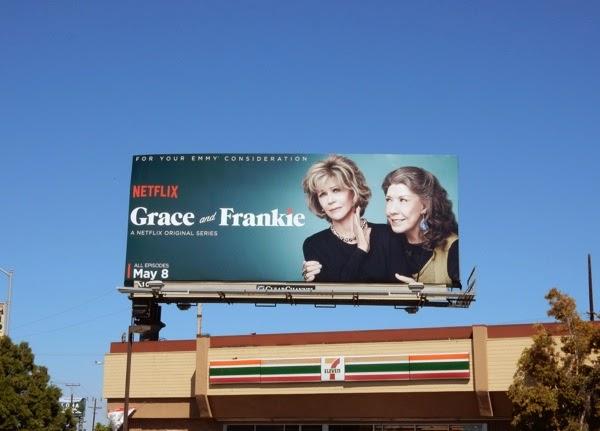 Grace and Frankie season 1 billboard