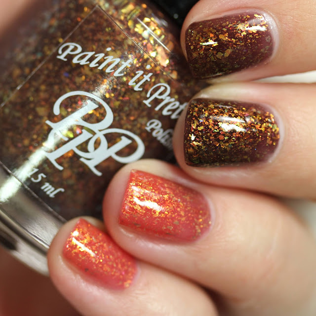 Paint It Pretty Polish Scare swatch