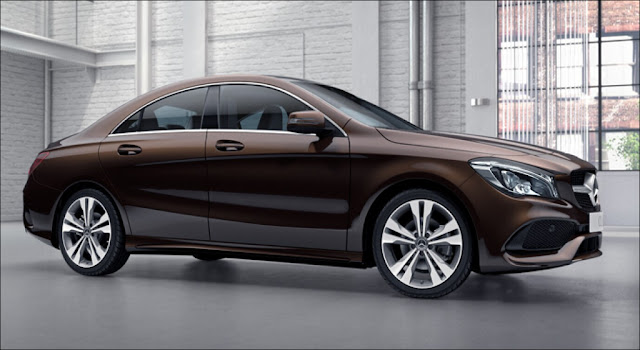 Mercedes CLA 200 2019 là mẫu sedan coupe được thiết thế theo phong cách thể thao năng động