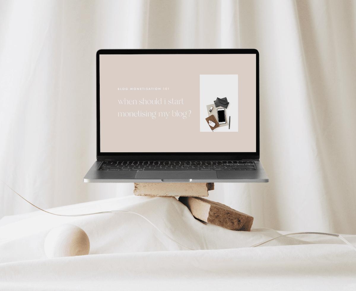 when should I monetise my blog?