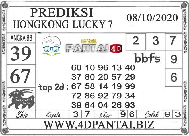 PREDIKSI TOGEL HONGKONG LUCKY 7 PANTAI4D 08 OKTOBER 2020