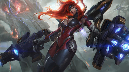 Gun Goddess Miss Fortune - League of Legends - Full HD 1080p
