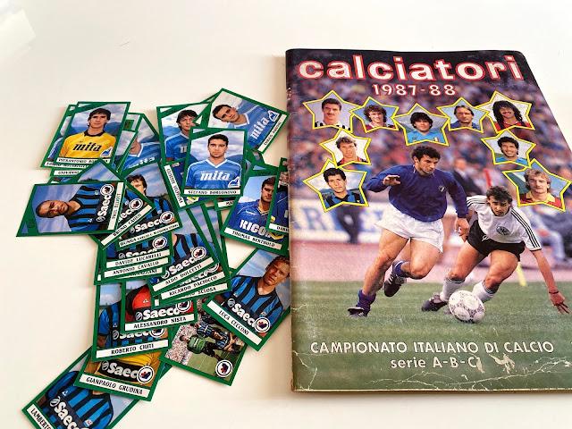 Collezione Panini calciatori 87/88