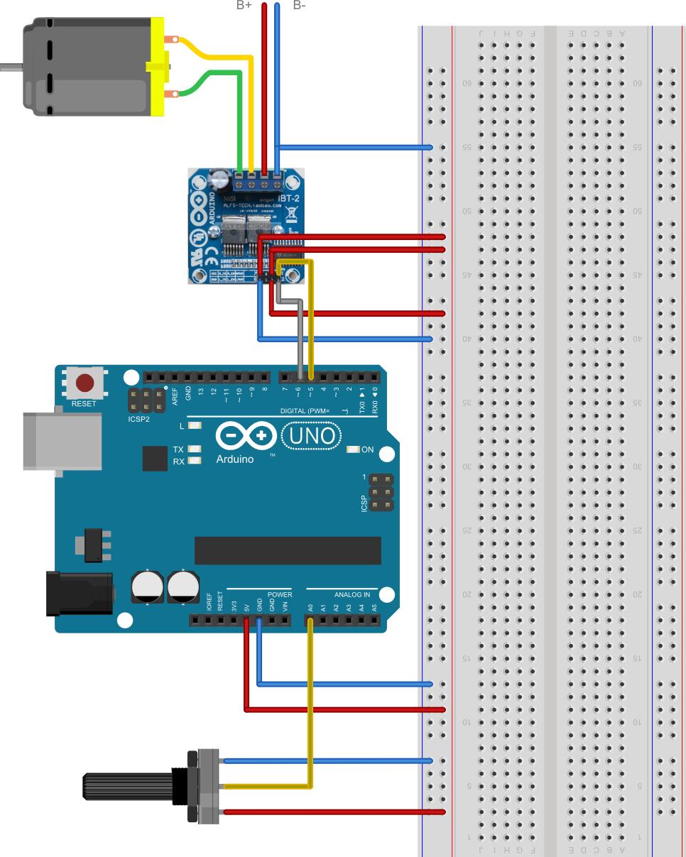 motor - Controlling servo 360 degreeclockwise and