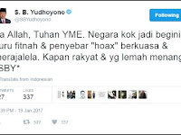 Kompak...! Habis SBY Ngetwit, Annisa Pohan Ikut Ngetwit, AHY Juga Bilang Begini.....