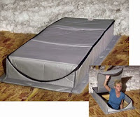 Pull Down Attic Stair Cover - Devere Insulation Home Performance