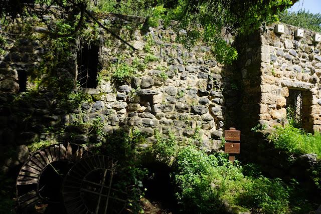 טחנת קמח עתיקה - תל דן