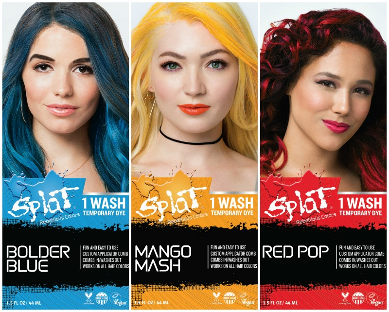 The Makeup Examiner Splat Hair Color Launches 1 Wash